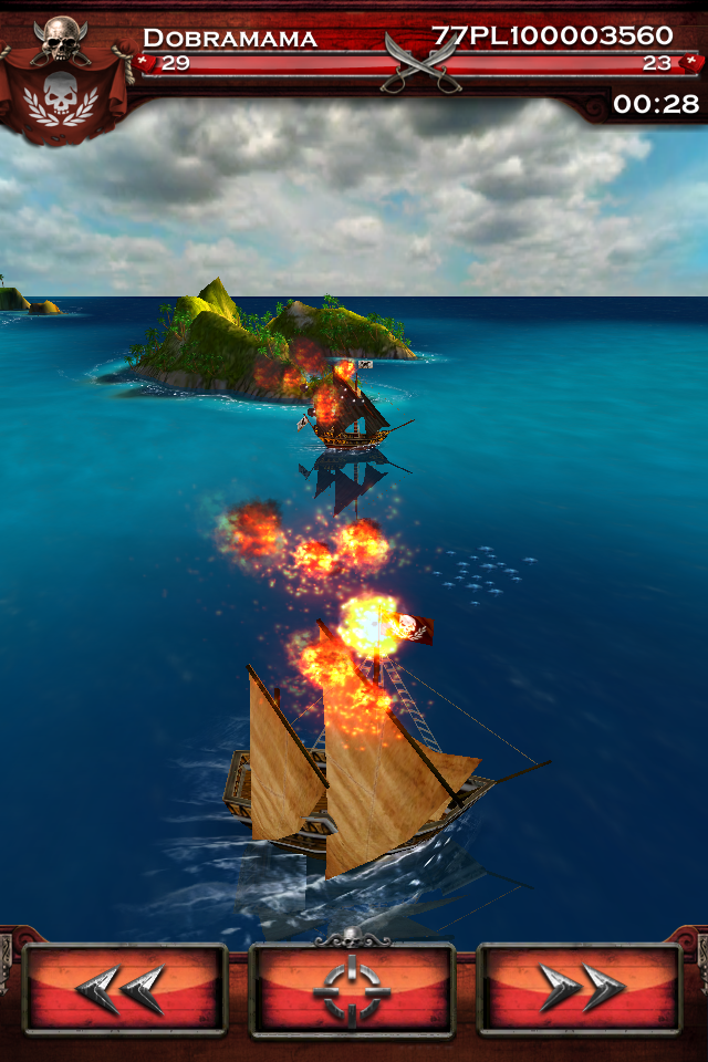 Скриншот к игре Pirates of the Caribbean.